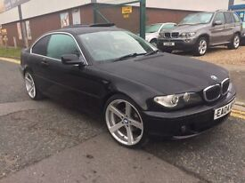 """BMW 320 CI COUPE """"""""04 PLATE """""""" 19 INCH BMW ALLOY"""