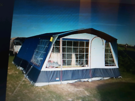 Large Family Size Tent - Cabanon Montpellier 6 Berth Frame Tent