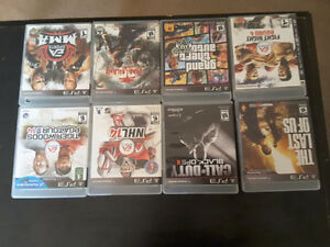 8 Playstation3 games