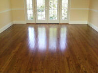 Floors Installed. Fast and Affordable
