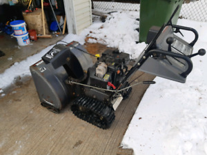 Track drive snowblower for sale