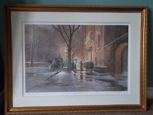 """Limited Edition Print """"The Recital"""" By D. R. Laird"""
