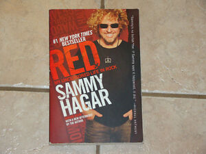 SAMMY HAGAR RED:MY UNCENSORED LIFE IN ROCK BOOK
