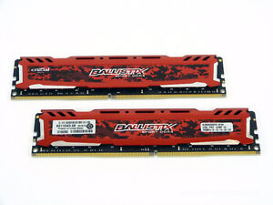 crucial ballistix sport ddr4 32gb ram 2400 memory Kitchener / Waterloo Kitchener Area image 1