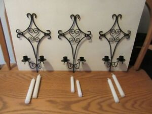 CANDLE HOLDERS - METAL - REDUCED!!!!