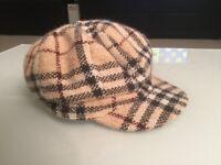 Burberry wool/ angora/ cashmere blend hat