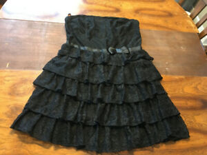 Dynamite strapless lace cocktail dress size 11