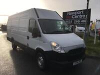 2014 14 IVECO-FORD DAILY 2.3 35S13V 126 BHP LWB HIGH ROOF DIESEL