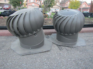 2 WIND TUBINES FOR ROOF
