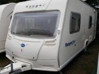 2006 Bailey Ranger 550 6 Berth Side Dinette Fixed End Bunks Caravan M/Mover