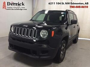 2016 Jeep Renegade   Used 4WD Sport Lo Mlge B/U Cam K'less N'Go