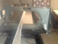 Lightly Used Nolting Longarm Quilting Machine