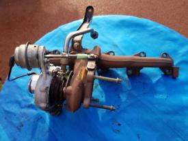 Vauxhall 2.0 dti turbo & manifold