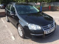 VW Golf 2.0TDI Diesel Estate 2008 New MOT FSH