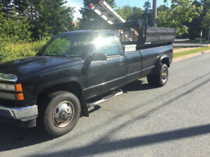 1993 gmc with dump in very good shape