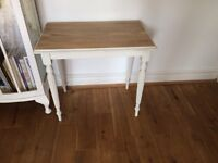 Lovely shabby chic side table