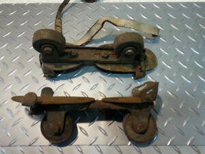 Antique Inline  Roller Skates