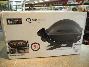 Weber Q 1400 Portable Electric Outdoor Grill NIB