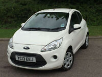 Ford KA 1.2 Edge 3dr (start/stop) 1 OWNER FROM NEW 07704445634