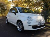 Fiat 500 Lounge 3dr PETROL MANUAL 2008/08