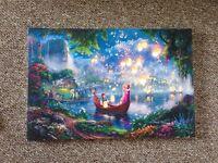 Disney Tangled canvas
