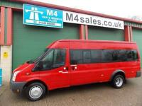 Ford Transit 135ps, 17St Minibus,Tacho,PSV.