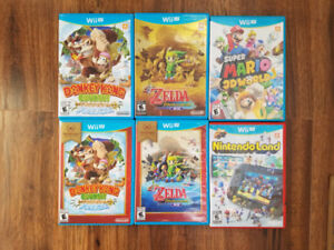 WiiU games $20 each
