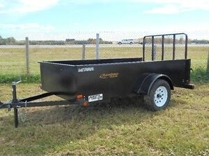 New 2016 Single Axle 5'x10' Rainbow Landscape Trailer