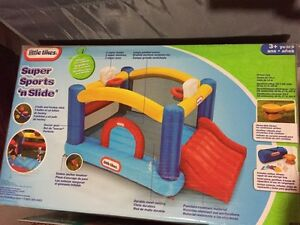 Little Tikes Sports And Slide bouncy toy