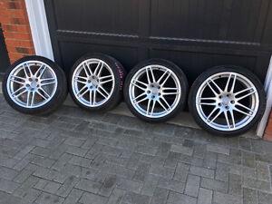 """19"""" Audi-A4-S-Line, OEM, Rims & New Tires"""