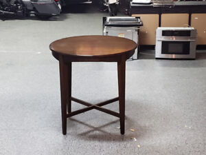 """Solid wood table ( maple) 42"""" h × 44"""" d"""
