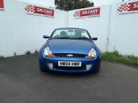 2004 04 FORD STREET KA 1.6 CONVERTIBLE,AWESOME SUMMER FUN,2 X KEYS,LONG MOT .