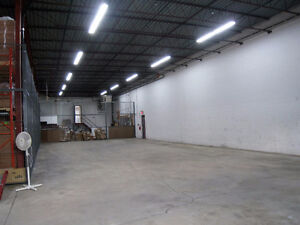 1450 Sq. Ft. Shared Warehouse Space Available