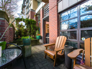 1 Bedroom plus den Semi-Furnished Private Entry Condo in Kits
