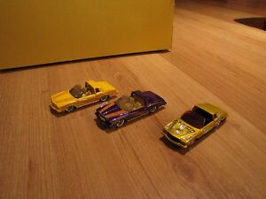 Three very cool Hot Wheels Monte Carlo's.