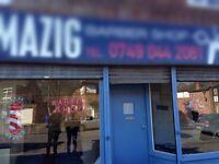 Barbar shop for sale chorlton m21