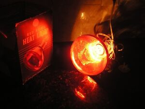 Vintage GE Red Bowl Heat Lamp/Lampe Calorifique Red Bowl par GE West Island Greater Montréal image 4