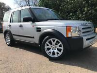 *3 MTHS WARRANTY*2007(07)LANDROVER DISCOVERY 3 2.7 TD V6 7 SEATER GS*