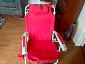 Amazing Lightweight Deluxe Camping/Backpack Chair