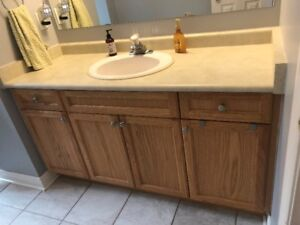 Bathroom Vanity cabinet (Used) for sale