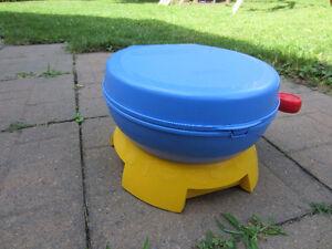 Pot de toilette & siège avec sons d'encouragement