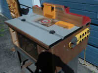 Professional style router table