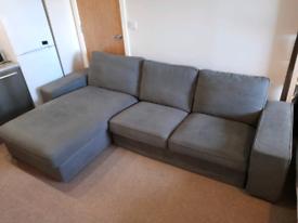 IKEA Kivik 4-seater Sofa with Chaise Lounge