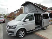 2016, VOLKSWAGEN T6 CAMPER VAN, PROFESSIONAL CONVERSION, LOW MILEAGE, POP TOP