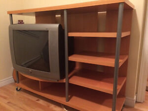 TV Stand for Sale (TV is free)