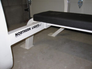 Commercial Grade Olympic Flat Bench gym weights exercise