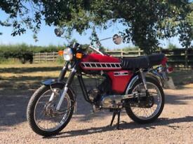 Yamaha FS1 49cc Registered 1988, Matching Numbers. Classic Japanese Motocycle
