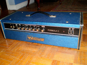 Tagus Amp Head Vintage Solid State 1970's