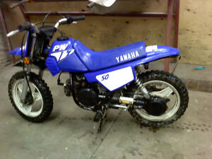 I want to Trade my Yamaha PW50 for Honda CRF50-70 or XR50-70?