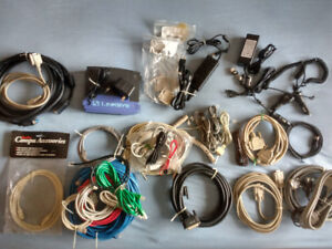 Cables, Connectors and Adapters (Assorted)